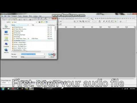 How To Cut MP3 With Audacity