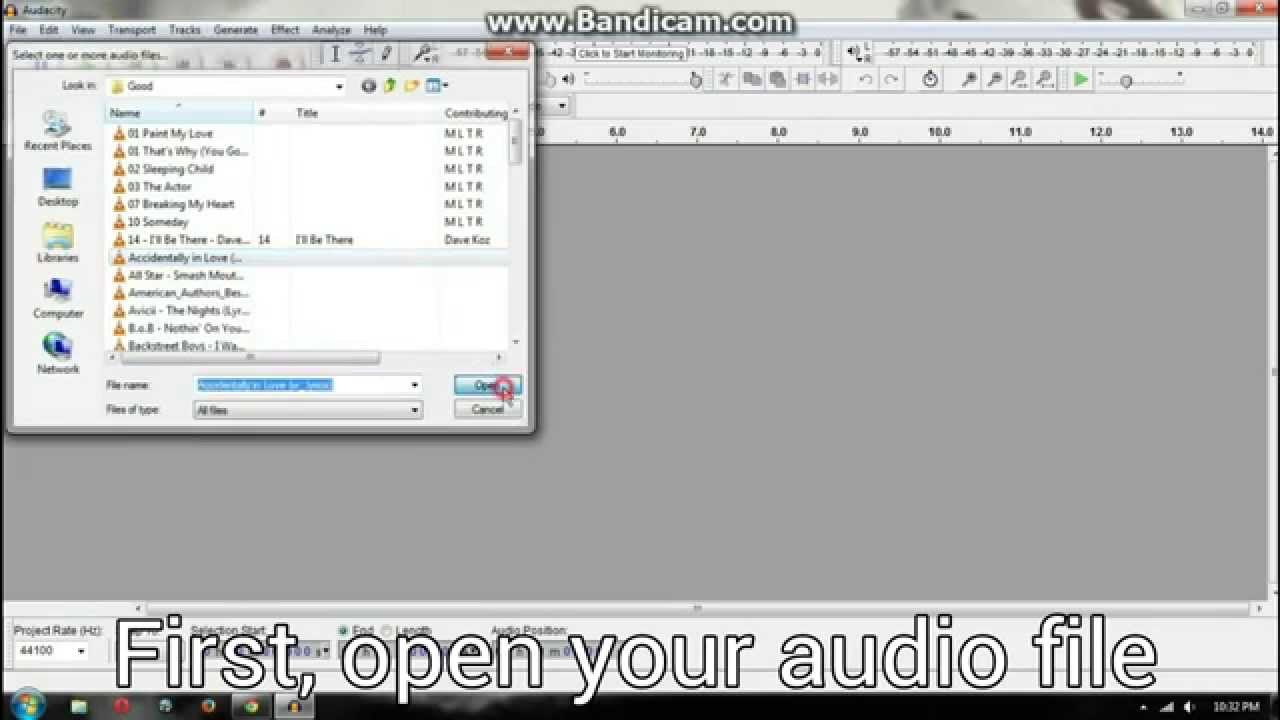 how to cut mp3 with audacity youtube. Black Bedroom Furniture Sets. Home Design Ideas