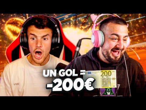 LE PAGO 200€ A PAPI GAVI POR GOL!!
