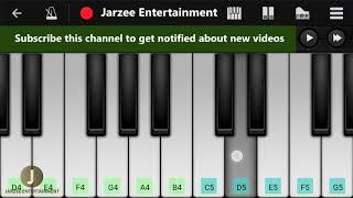 Dard Dilo Ke Kam Ho Jaate - Easy Mobile Perfect Piano Tutorial | Jarzee Entertainment