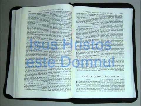 6 - ROMANI - Noul Testament - Biblia Audio Romana