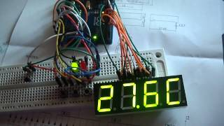 Arduino thermostat for negative and positive temperature (4) by Nicu FLORICA