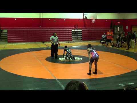 Rahway Middle School Wrestling Defeats  Linden  68  18 Antonio Dalmu 2nd Part B