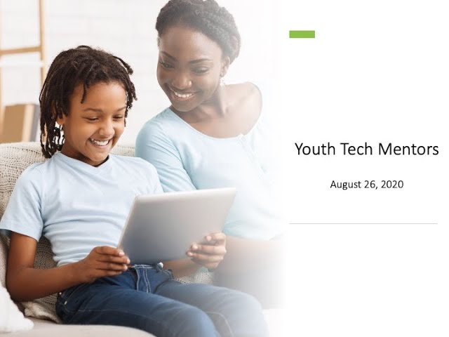 Youth Tech Mentors Bridge Schools and Families - IDRA Webinar