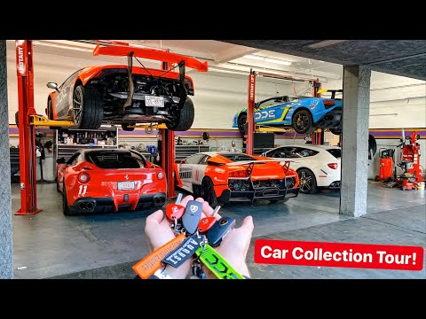 FULL TOUR OF MY SUPERCAR COLLECTION!!