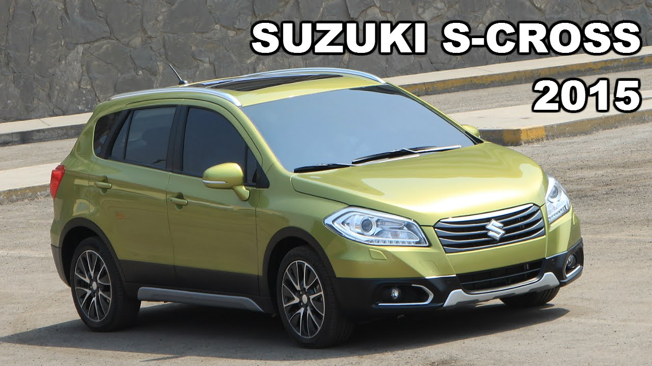 Suzuki S-Cross 2015: Derco hizo oficial su venta en Perú | Todoautos