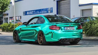 Tuner cars leaving a Carshow | Zucker 2019