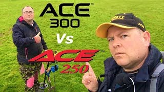 garrett ace 300i vs ace 250 who wins? metal detecting 51