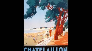 """affiches 1930 villes balnéaires de Charente Maritime """"ehlinger.fr"""""""