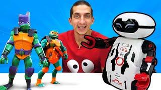 Робот MAZE BREAKER - Новая игрушка для Черепашки ниндзя! Видео распаковка для детей