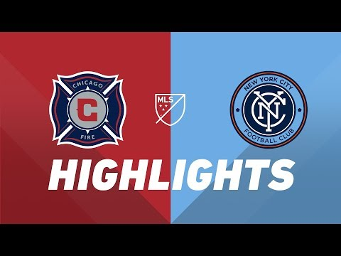 Chicago Fire vs. New York City FC | HIGHLIGHTS - May 25, 2019