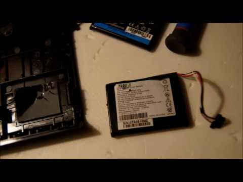 tomtom battery replacement instructions