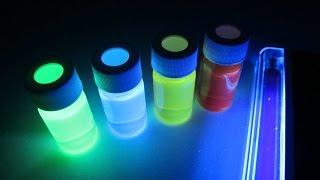 Люминофоры в домашних условиях (светящиеся растворы)