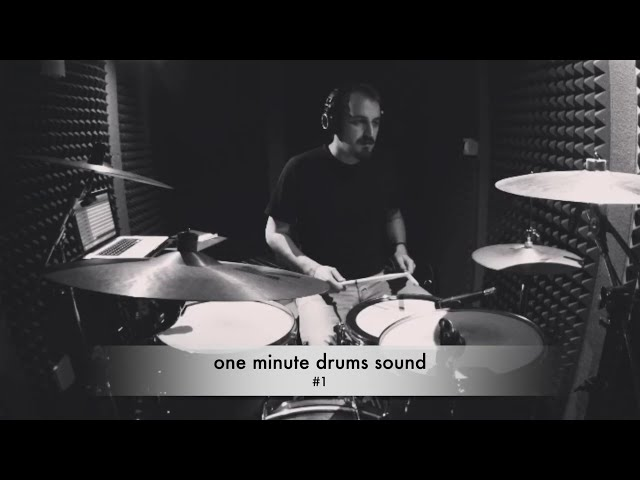 One Minute Drums Sound #1