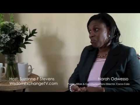 Wisdom Exchange TV host Suzanne F Stevens presents: Norah Odwesso Interview