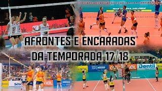 Afrontes e encaradas da temporada 17/18 by Danilo Rosa