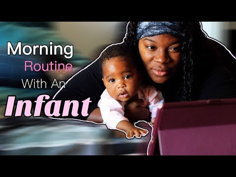 Mommy and Baby Morning Routine | Black Family Vlogs