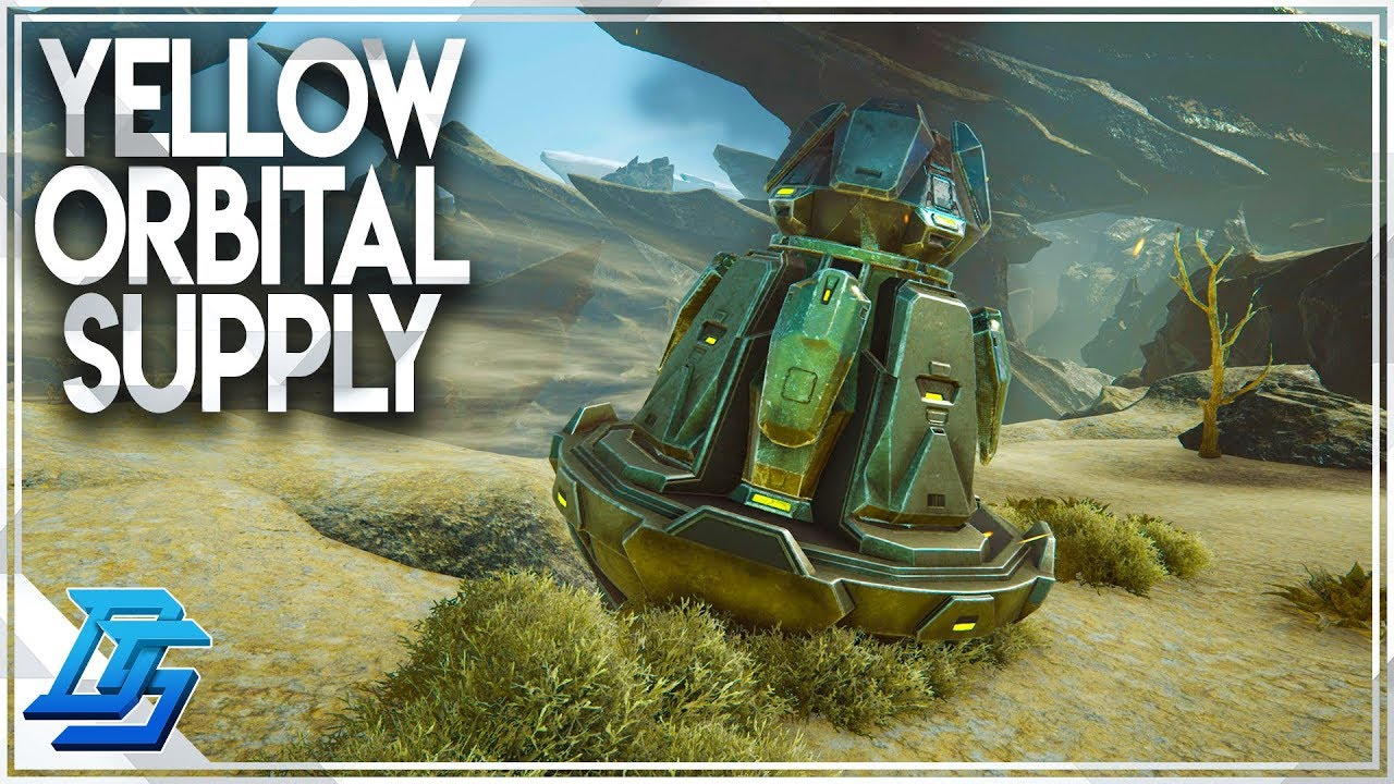 Time For The Yellow Orbital Supply Drop Extinction Dlc Ark