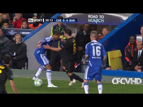 Ashley Cole vs Barcelona (Home) Semi Final UCL 11/12 HD