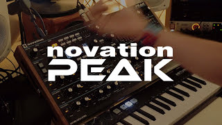 Novation Peak Polysynth Demo