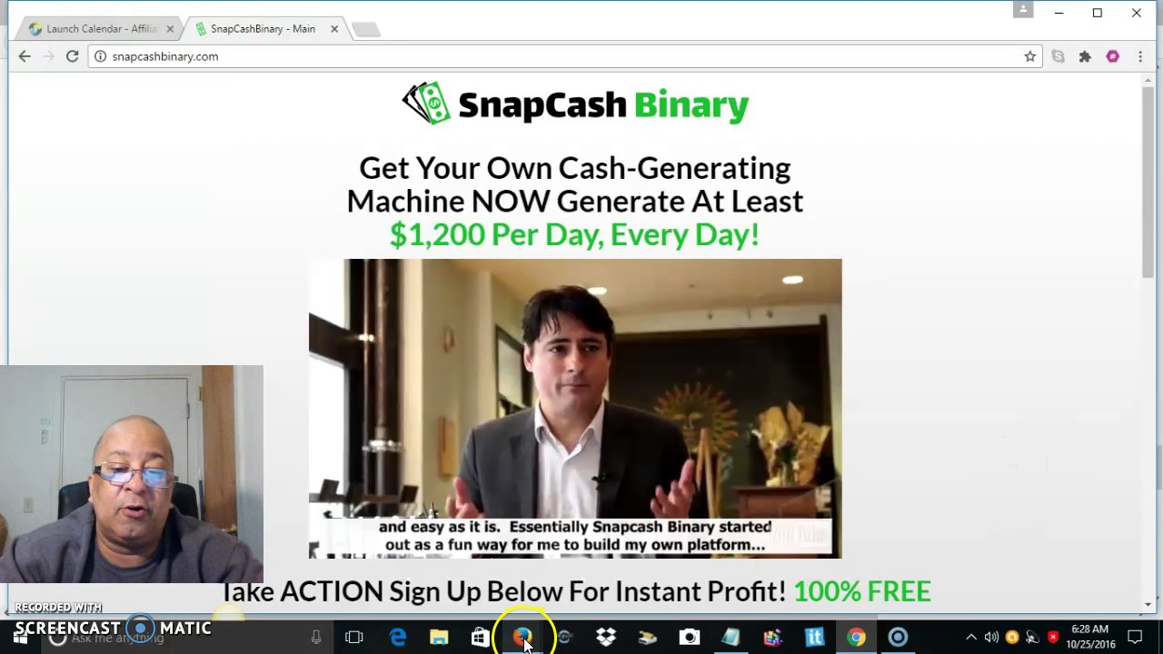 What are binary option scams list