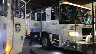 NHFD Engine 8 goes on an EMS run
