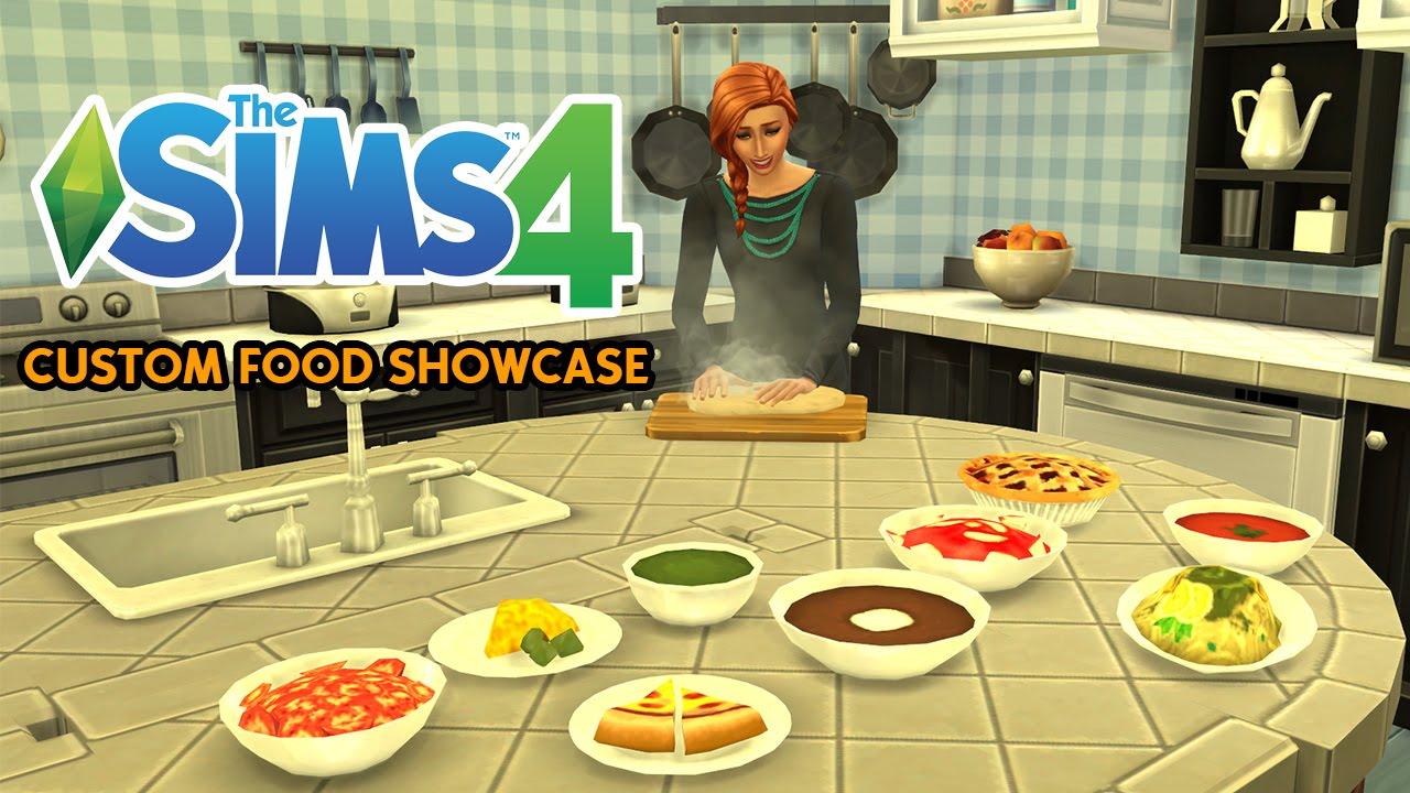The Sims 4: Custom Food Showcase
