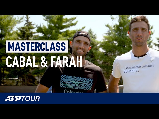 Poaching & Serve Return Tips With Cabal & Farah  | MASTERCLASS | ATP