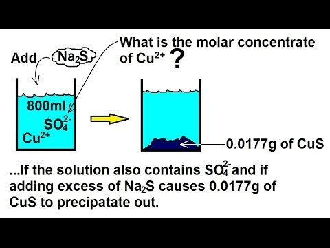 Chemistry - Quantitative Mass Analysis in Chemical Equations (31 of