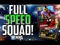 Full SPEED Team! 99 SPEED EVERYWHERE! Fastest Madden Mobile Team