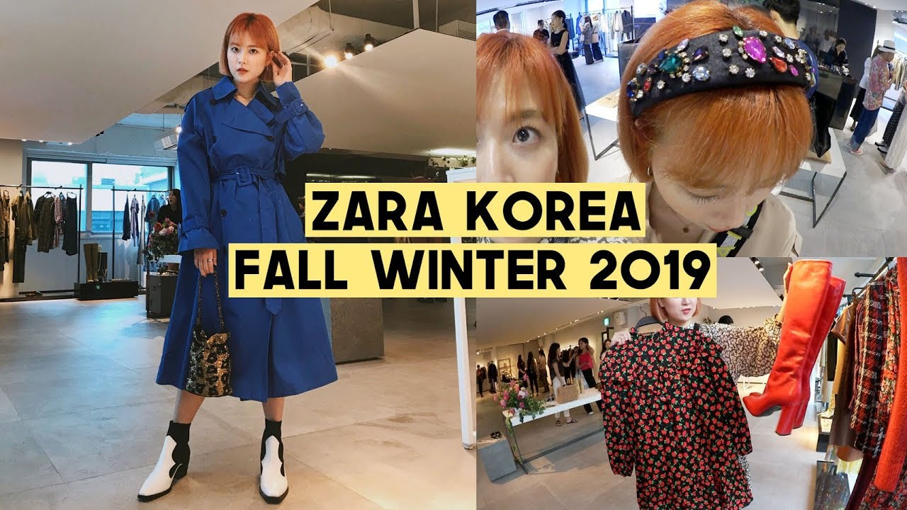 [VIDEO] - Shopping at Zara Korea for Fall Winter 2019: Style Trends | Q2HAN 2