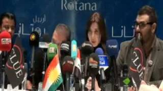 Nancy Ajram in kurdistan 22/12/20111 نانسي عجرم