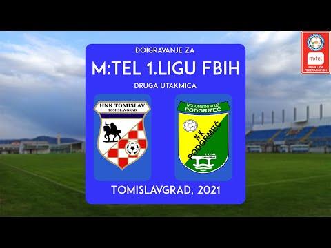 HNK TOMISLAV vs. NK PODGRMEC druga utakmica doigravanja za 1.FBiH
