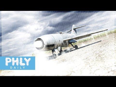 HUGE SILVER RUSSIAN PHLYING DILDO | Aka La-200 (War Thunder Jet Gameplay)