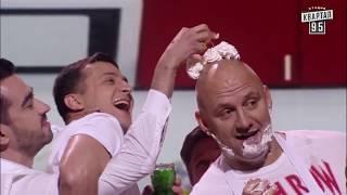 Зеленский и Потап импровизировали во время вечернего шоу - что творят их руки нужно видеть
