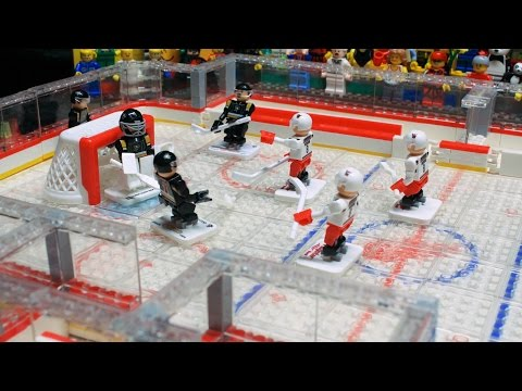 LEGO Stop Motion - Good Old Hockey Game