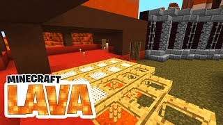 Bergbude! Kühlkammer! Berg vernichten! - Minecraft LAVA #06