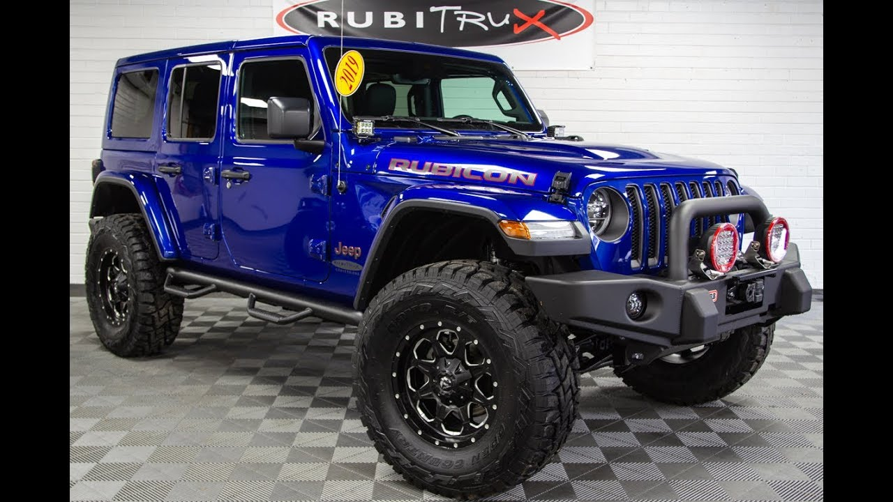 2020 Jeep Wrangler Rubicon Blue