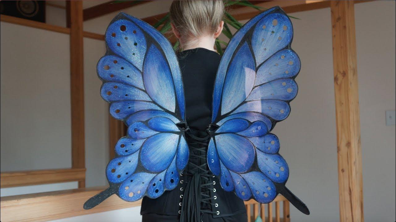 Blue Fairy Wings Timelapse - YouTube