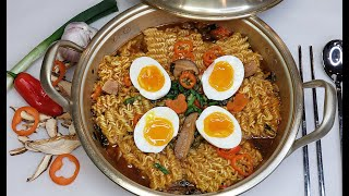 Ramen For Two   Easy Soft Boiled Eggs for Ramen   Simply Mama Cooks