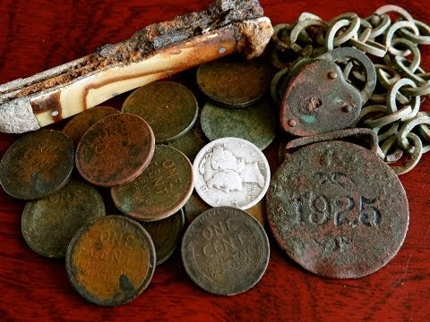 A Metal Detecting Bonanza of Coins, Relics and Treasures From The Past