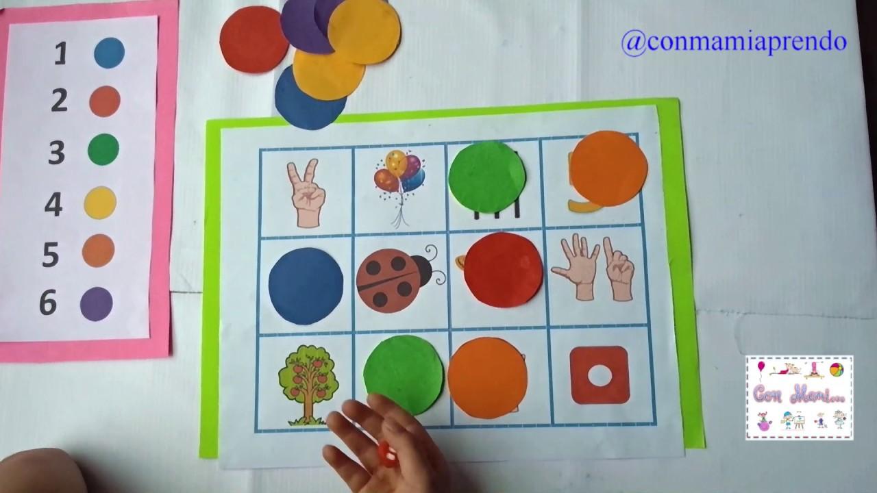 Actividad Matematica Para Preescolar Youtube