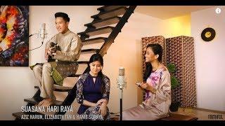 Cover images Aziz Harun, Elizabeth Tan &  Hanie Soraya - Suasana Hari Raya (Live Cover)