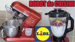 robot de cuisine LIDL SILVERCREST pâtissier type KITCHENAID à 89 € Professional Stand Mixer