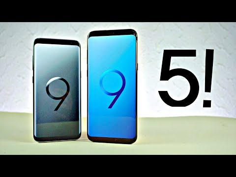 Samsung Galaxy S9 - Top 5 Features!