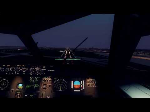 [P3D] BAD WEATHER !! ➡ FSLabs A320 @ EDDF in Thunderstorm (+ FSL Spotlights)