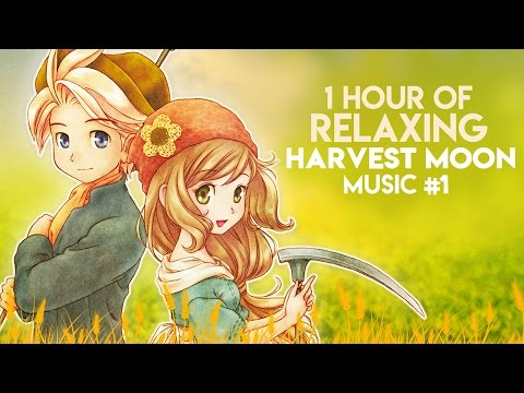 1 Hour of Relaxing Harvest Moon Music