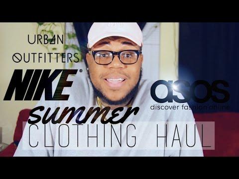 SUMMER 2016 CLOTHING HAUL // ASOS & URBAN OUTFITTERS MEN HAUL // NIKE AIRMAX