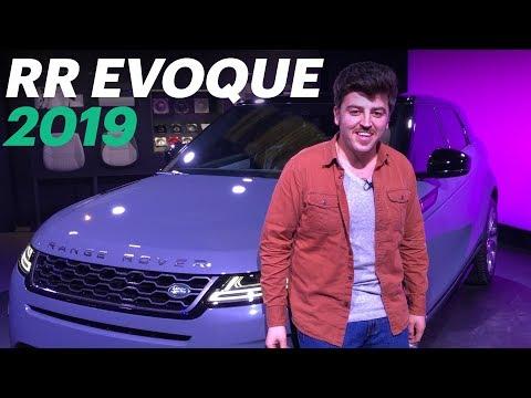 Новый Range Rover Evoque 2019 (Обзор и тест-драйв)