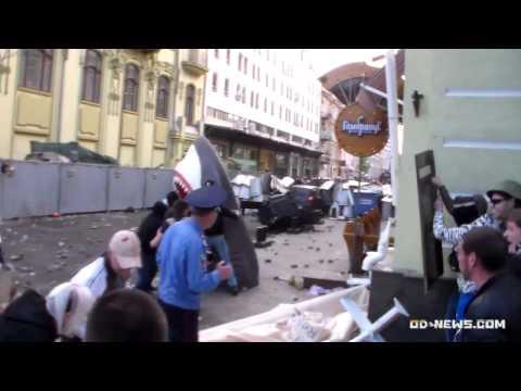 Сепаратисты открыли огонь по одесситам из автоматов: первые убитые